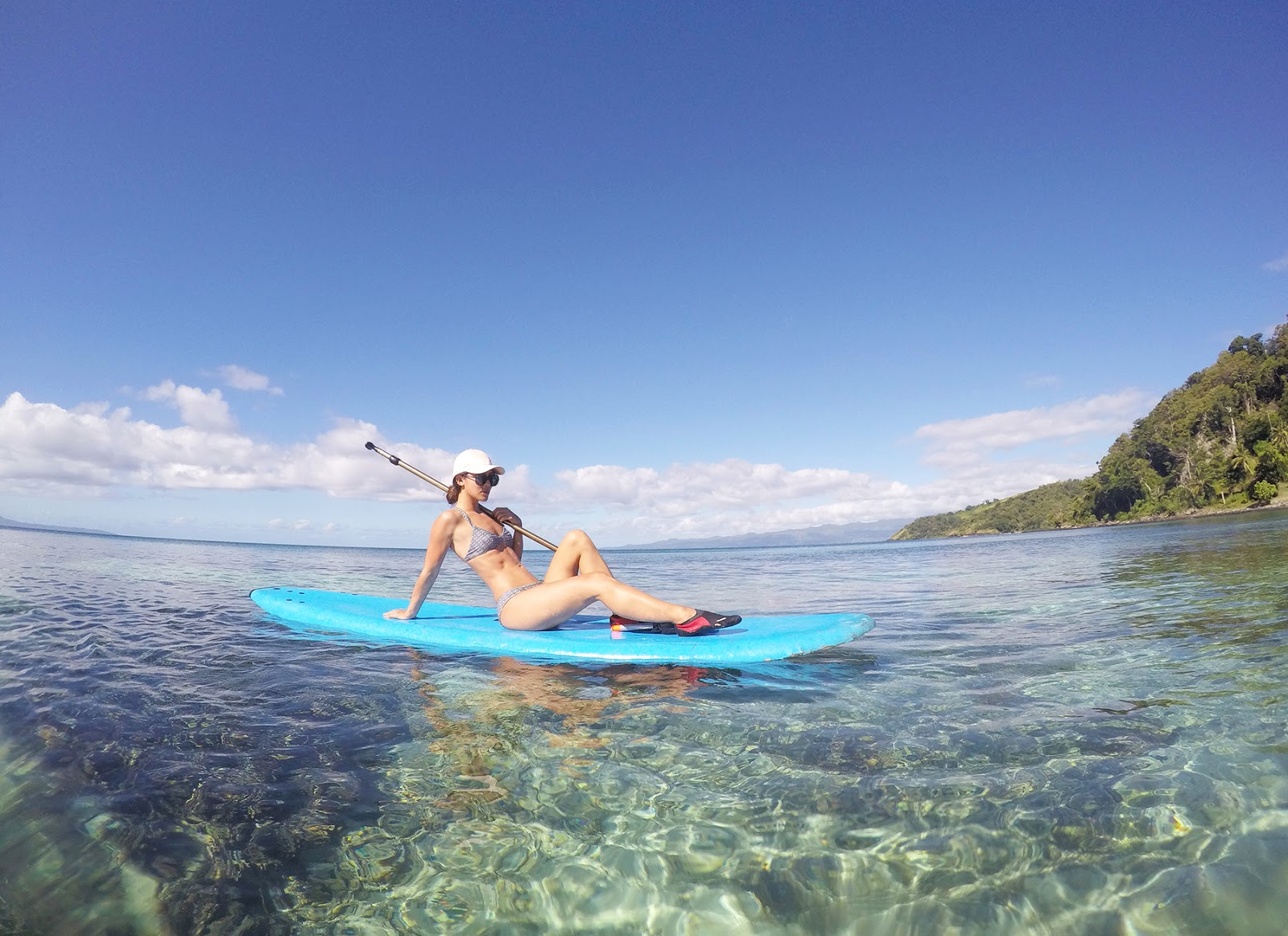 Euriental | luxury travel & style | The Remote Resort, Fiji, paddleboarding