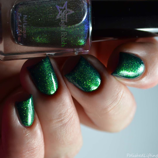 color shifting shimmer nail polish topper