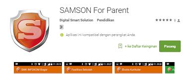 Fasilitas Pendukung Samson for Parent