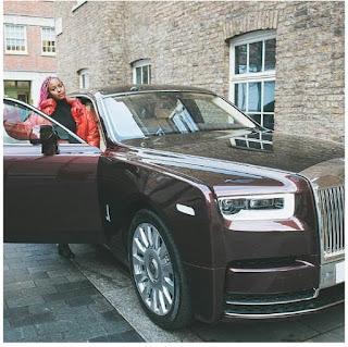 DJ Cuppy Gets Her New Rolls Royce Phantom [Photos]r