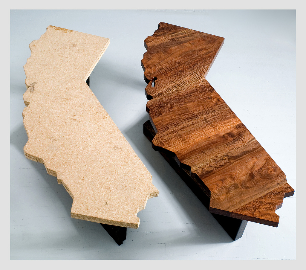 If It's Hip, It's Here (Archives): California Shaped Desks ...