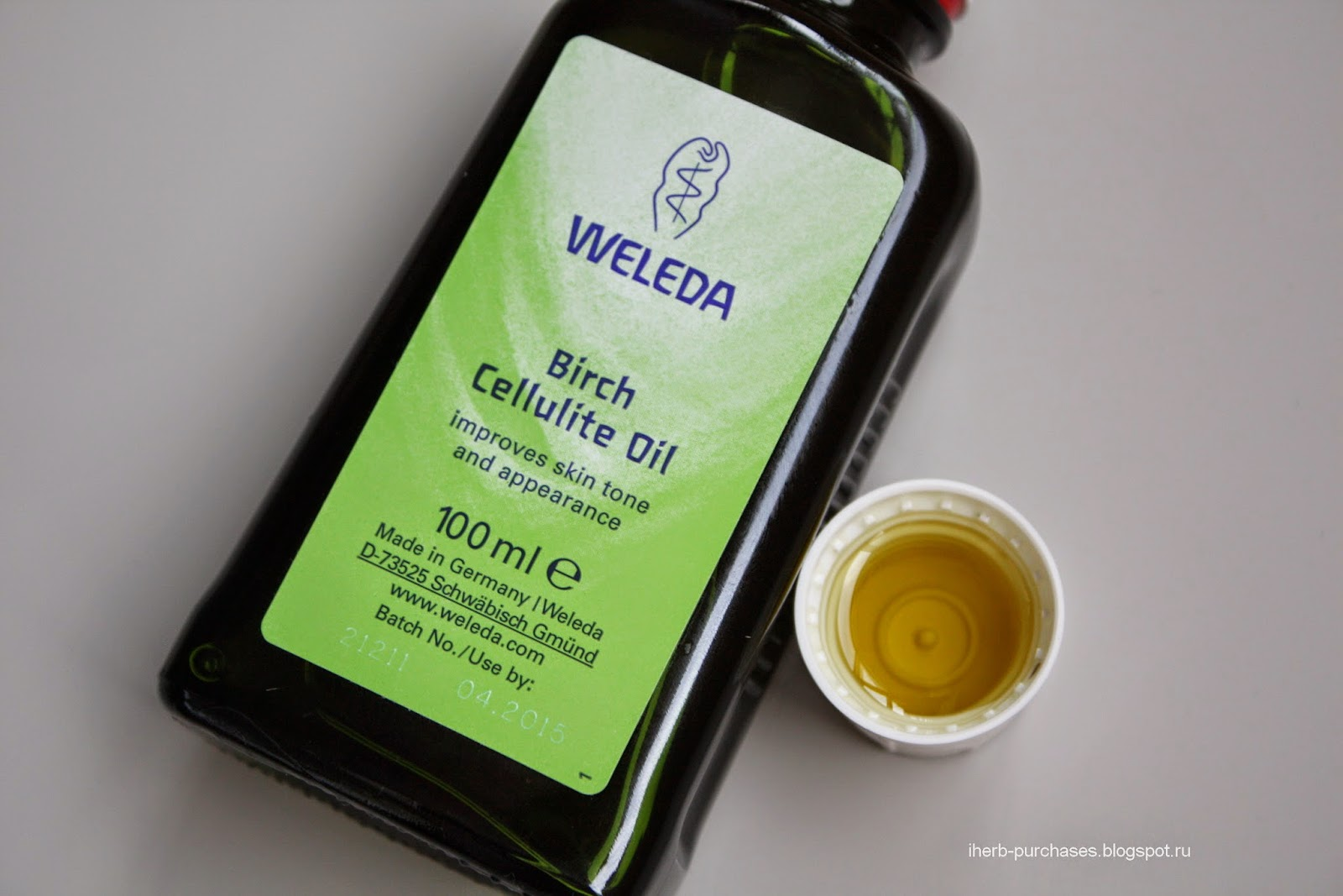 масло для тела, от целлюлита, антицеллюлитное, отзыв, iherb