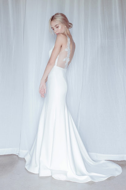 CONTEMPORARY LUXE WEDDING DRESSES BRIDAL GOWN MODERN