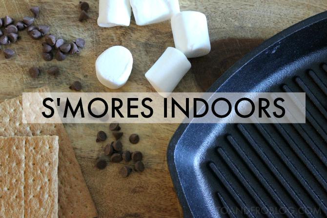 s'mores indoors recipe