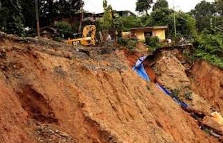 Pengertian Tanah Longsor Dan Penyebab Terjadinya Tanah Longsor