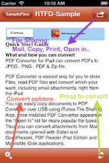 app which can convert MS Word, Excel, PowerPoint, Pages, Numbers, Keynote files, HTML pages and Photos to Adobe PDF format