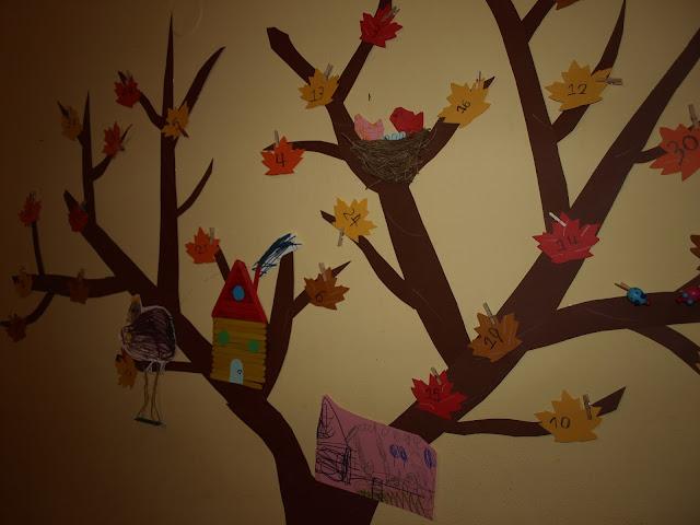 Χειροτεχνία χάρτινο δέντρο!