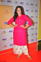 Sree Mukhi in Pink Kurti looks beautiful at Meet and Greet Session at Max Store (69).JPG