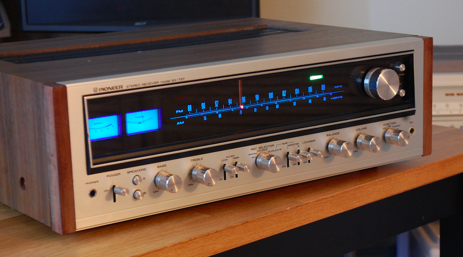 Vintage Hi Fi Audio Restorations J Trapani Pioneer Sx