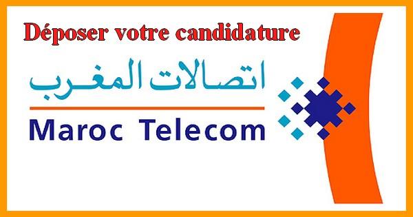 d u00e9poser votre candidature   maroc telecom