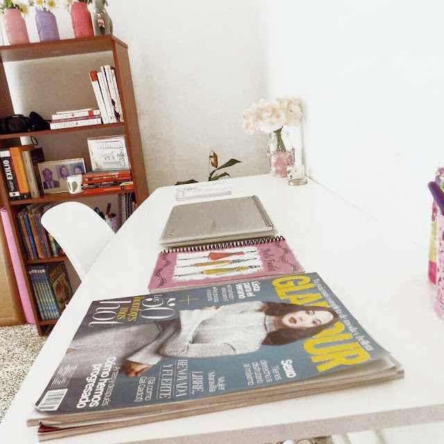 escritorio de mujer