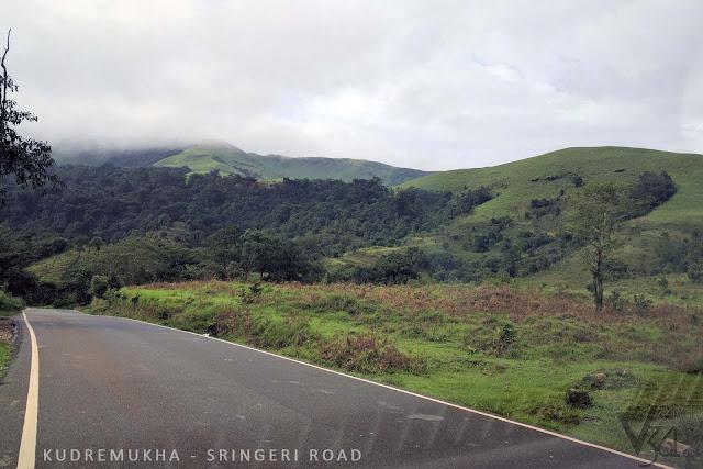 Kudremukh-Sringere road