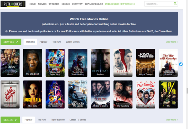 Putlockers – Watch Free Movies Online