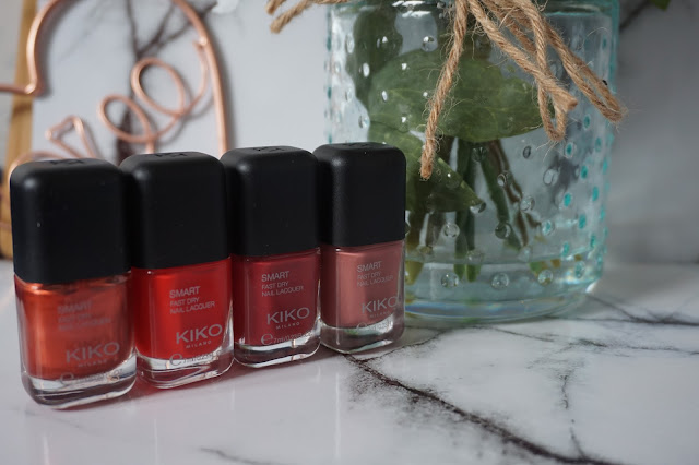 KIKO  Smart Fast Dry Nail Lacquer Collection