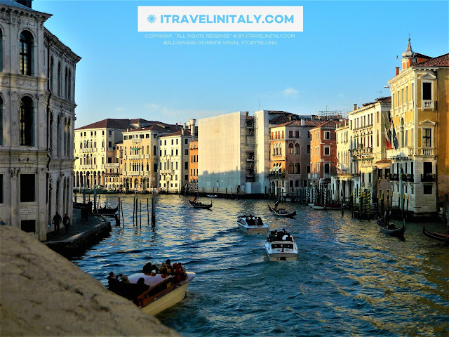 I Travel in Italy introduces you; The Grand Canal Venice, Copyright All rights reserved © By itravelinitaly.com travelers from Italy Photo by Baldassarri Giuseppe Visual Storytelling.    Find out more, 1> go to the bottom of the site page.