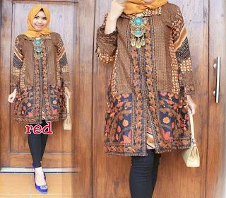 model baju kondangan batik