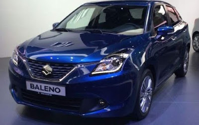 Maruti suzuki Baleno Delta images and pictures - blue color