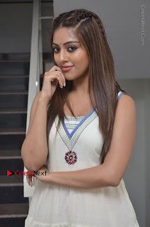 Telugu Actress Anu Emmanuel New Stills in Beautiful White Long Dress  0013.JPG