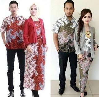 Jual Baju Batik Couple Untuk Pesta