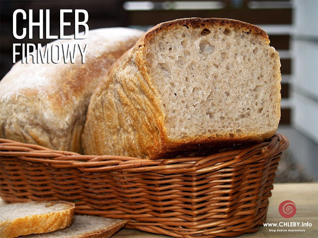 Chleb firmowy (pszenny chleb na zakwasie)