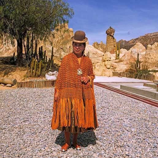 La Rebeli 243 N De Las Cholitas En Bolivia Cholitas Bolivia