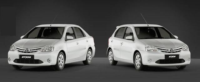 Toyota Etios White Pack