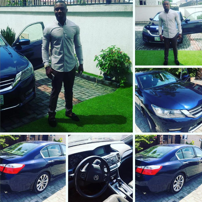 Ubi Franklin gifts his longtime friend, Ominiotah, a 2016 Honda Accord