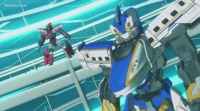 Shinkansen Henkei Robo Shinkalion The Animation Episode 11 English Subbed
