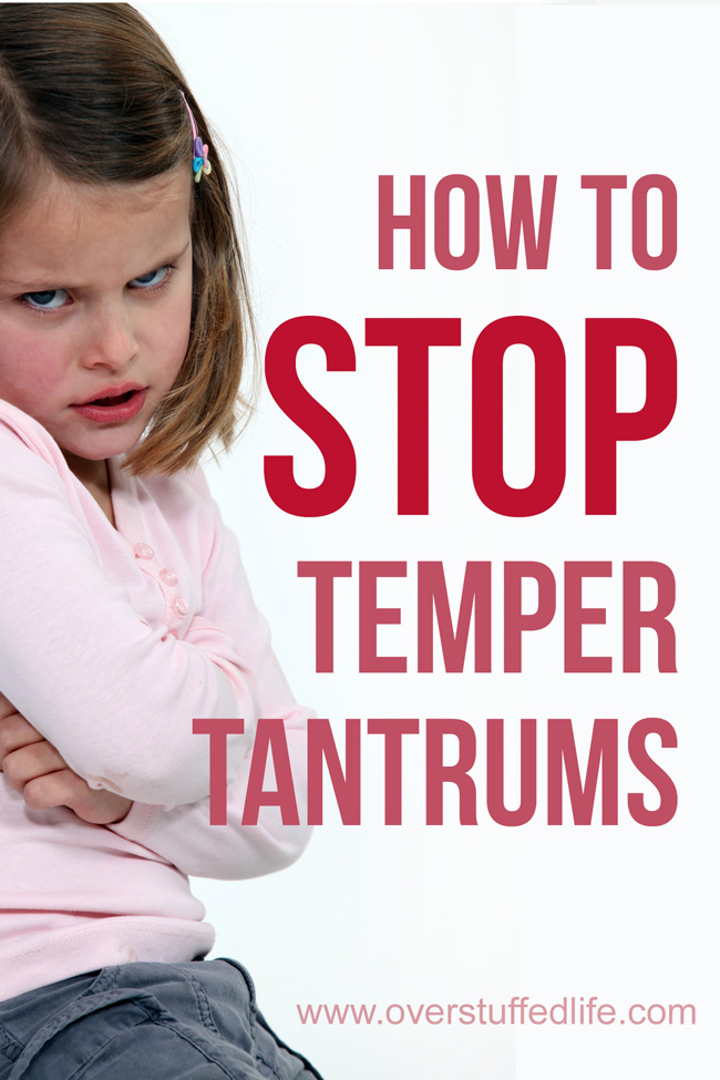 This simple trick will help you to deal with a temper tantrum quickly!
