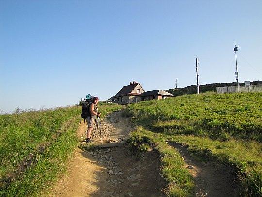"Schronisko PTTK ""Chatka Puchatka"" na Połoninie Wetlińskiej (1228 m n.p.m.)."