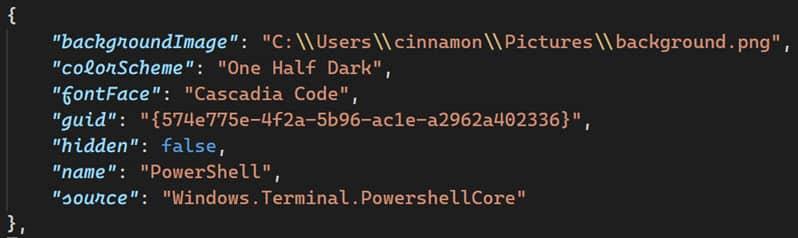 Cascadia Code font now has an italic variant