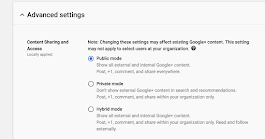 Set restrictions on what content people interact with and share on Google+