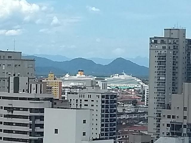 Vista do Porto de Santos