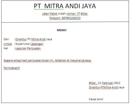 Contoh Artikel Bahasa Indonesia Artikel Indonesia Contoh Artikel Bagus Contoh Memo Resmi Terlengkap