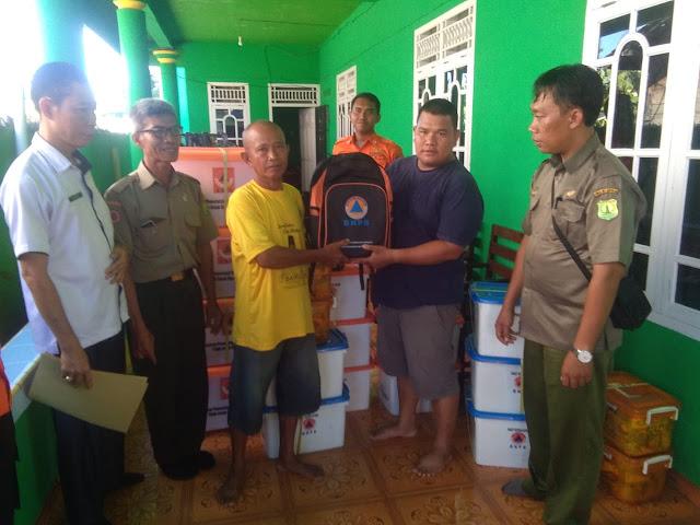 BPBD Muba Salurkan Bantuan Logistik Korban Banjir di Wilayah Kecamatan Sanga Desa