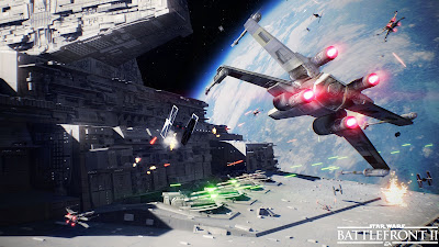 Star Wars Battlefront 2 Space Battles