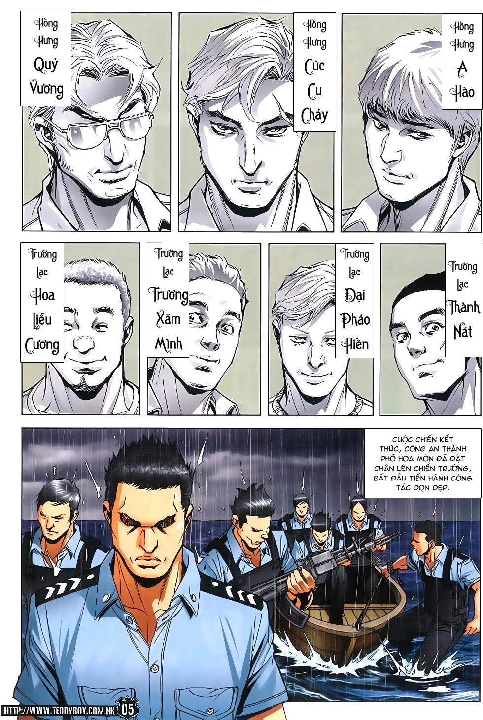 Người Trong Giang Hồ chapter 1861: kết thúc này bắt đầu khác trang 4