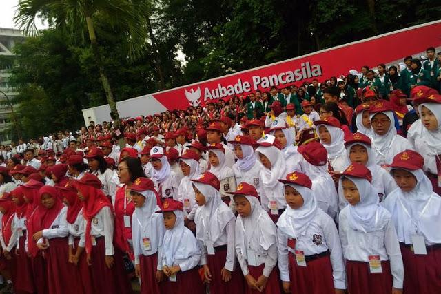 Jokowi Adalah Presiden Pertama Yang Hadiri Kongres Pancasila di UGM