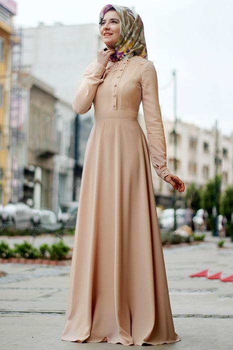 30 Model Baju Muslim Lebaran 2018 Simple Elegan