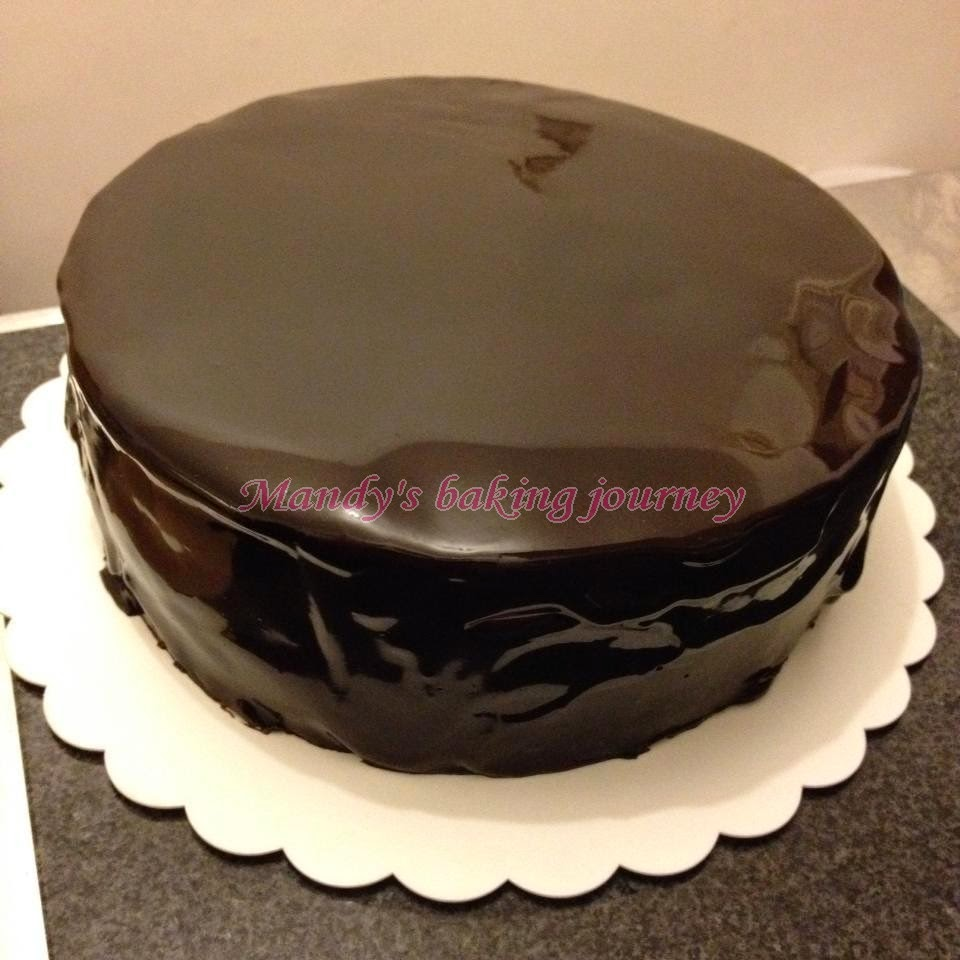 Easy Chocolate Glaze For Cheesecake