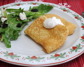 Potato Blintzes