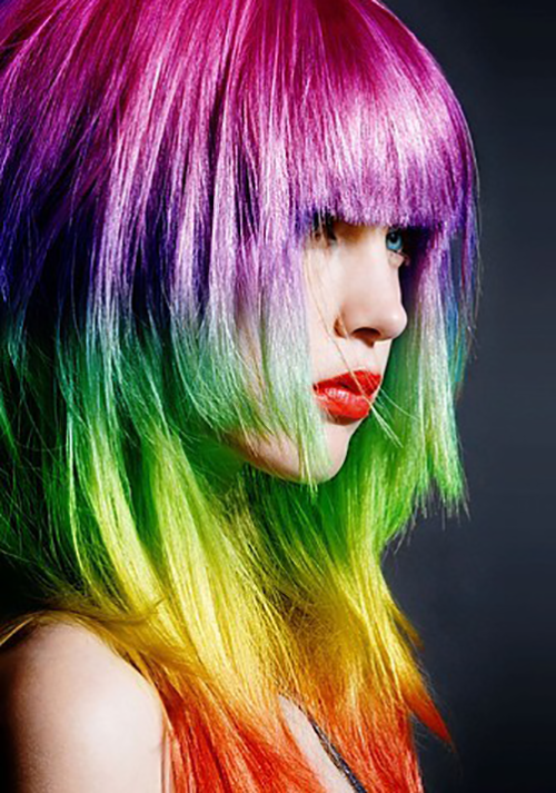Trend Rainbow Hair Colors 2014 - Hairstyles Tips