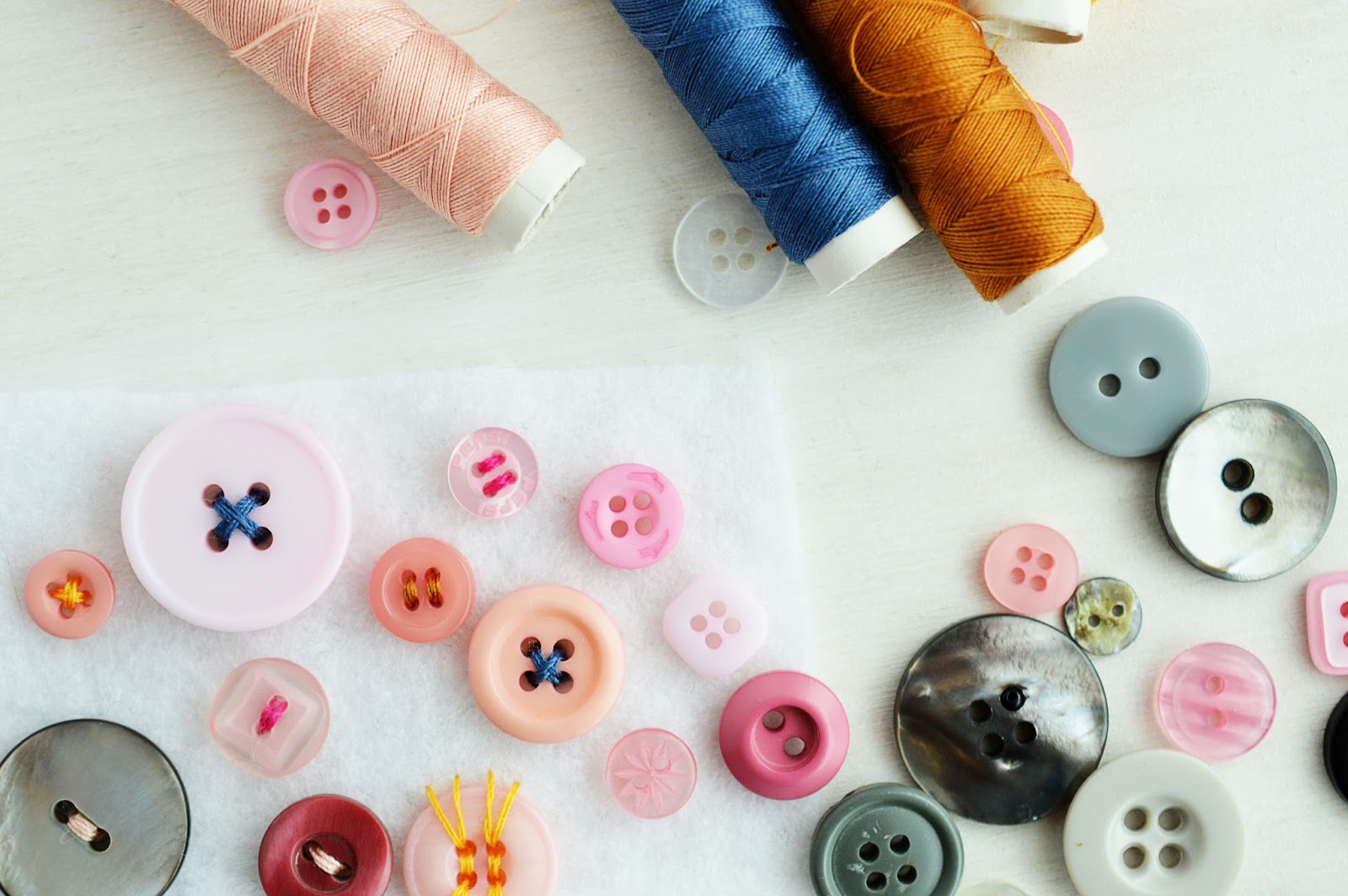 Crafter's Know-How | SEWING ON A BUTTON