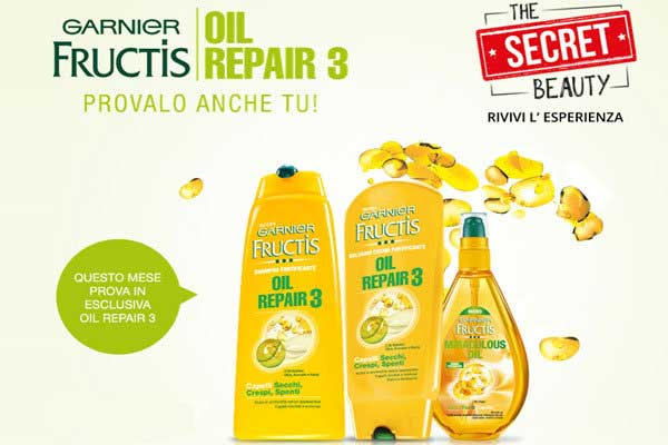 Garnier Fructis Oil Repair 3 kit
