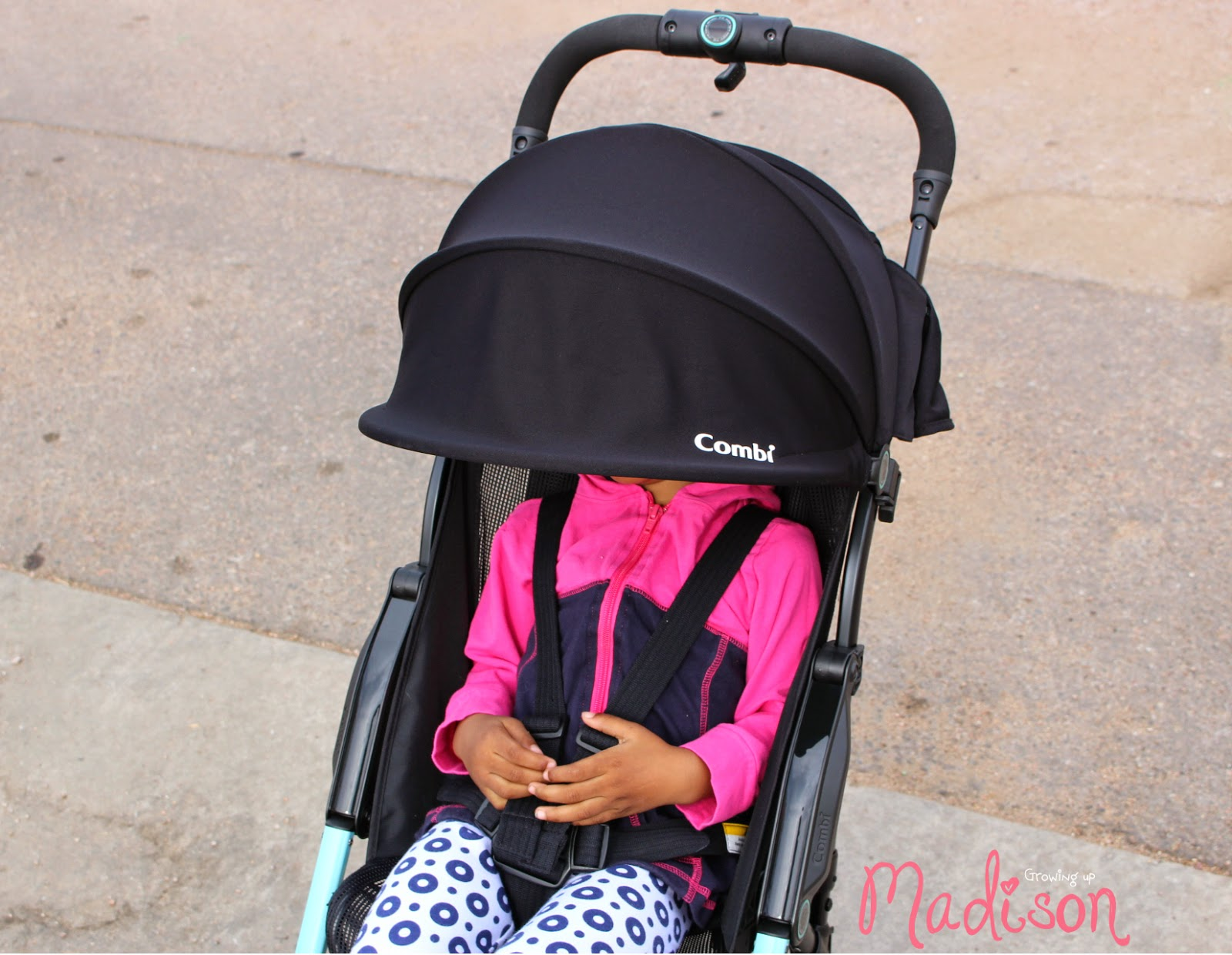 The F2 Stroller by Combi - Light and Convenient - AnnMarie John