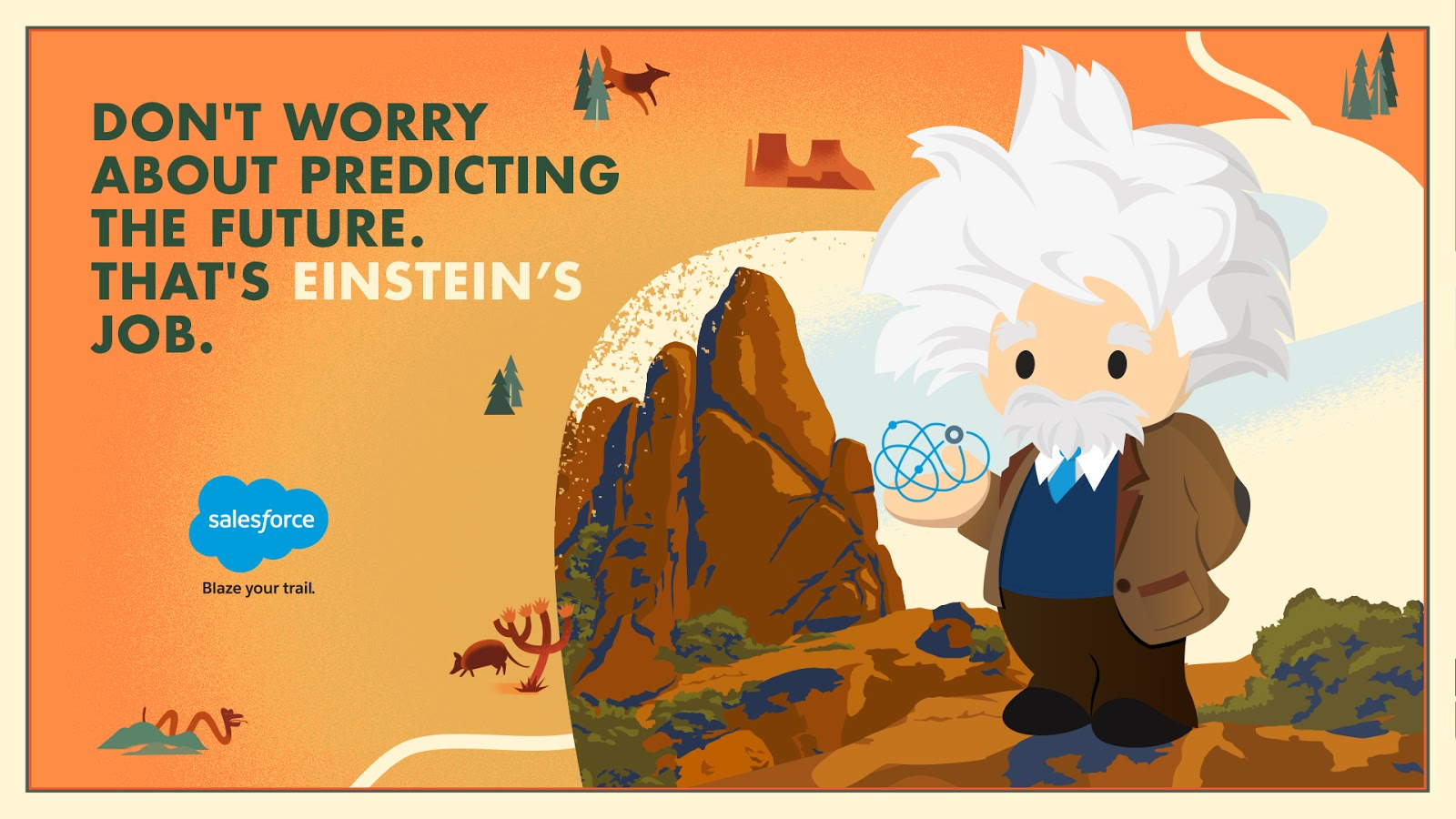 Einstein: Resident genius and future seeker