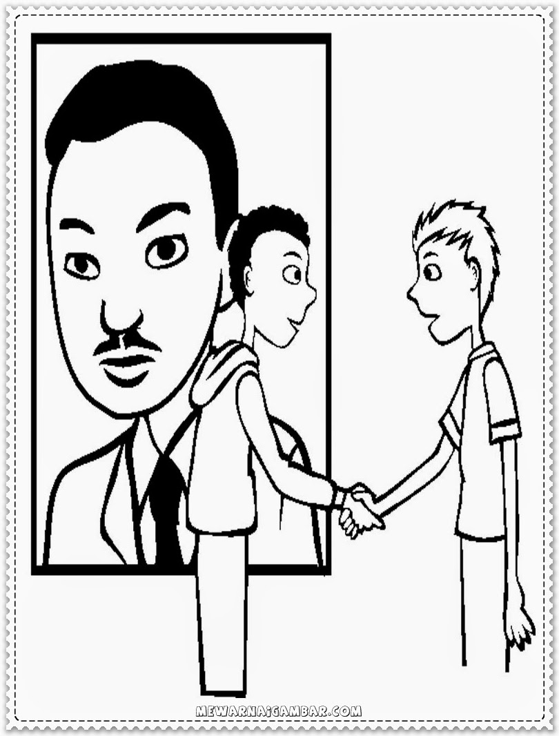Martin Luther King Jr Coloring Activities