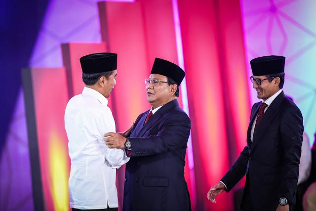 Survei Median: Januari ini, Elektabilitas Prabowo Mulai Pepet Jokowi