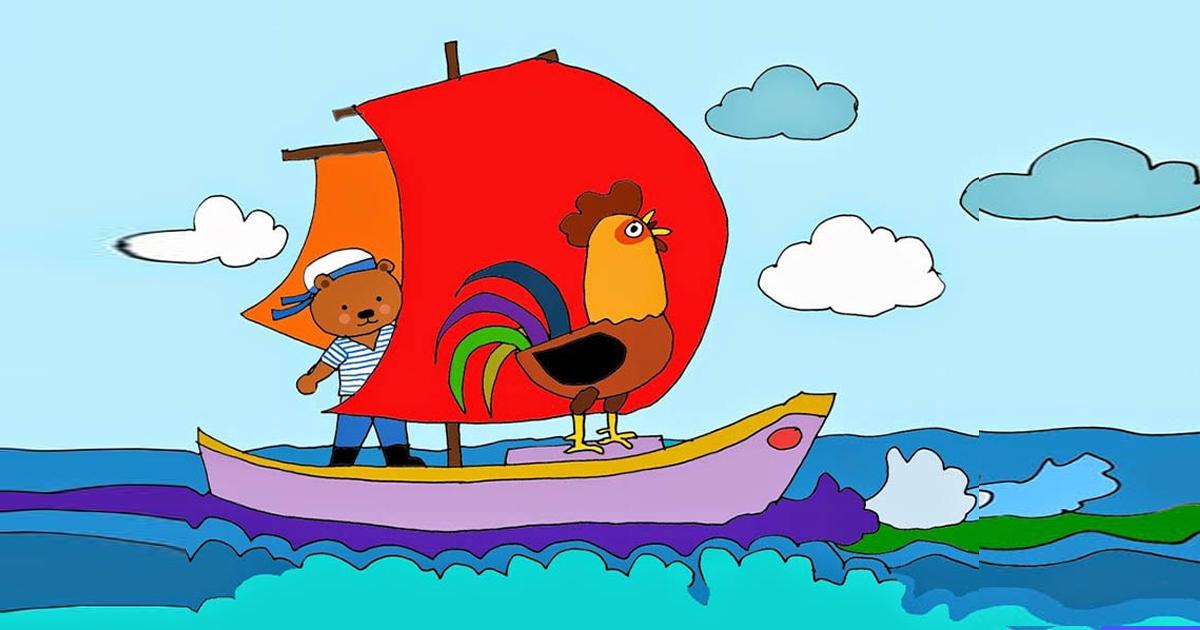 lời truyện chuyến du lịch của chú gà trống choai