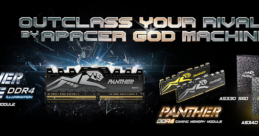 PC Modder' Favorites: Apacer PANTHER Series-DDR4 and SSD